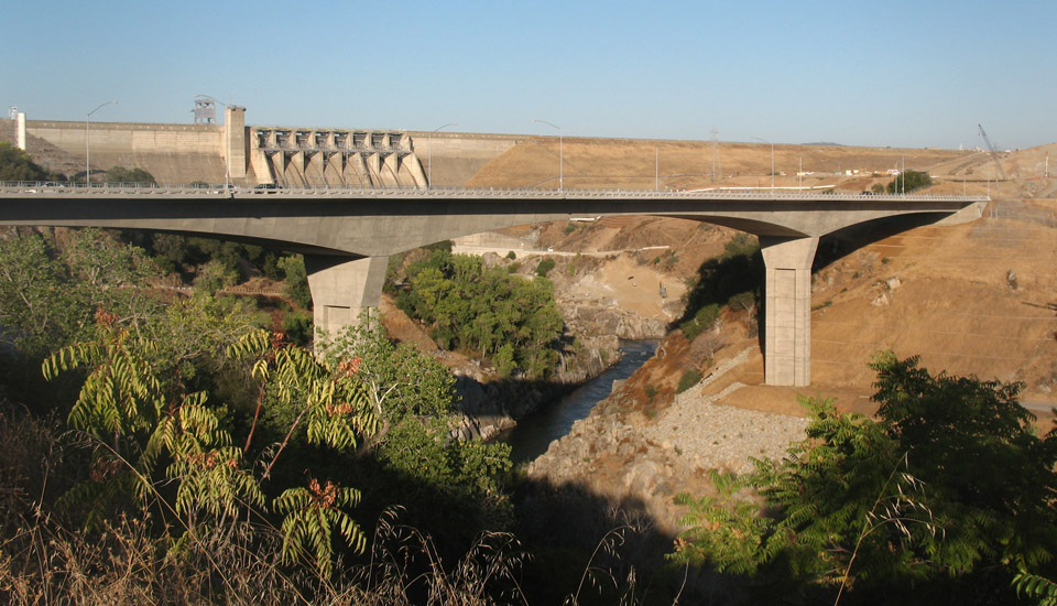 Folsom Dam Bridge