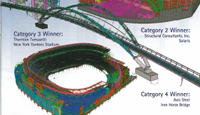 Congratulations to the Winners of Tekla's 2009 North American Model Competition