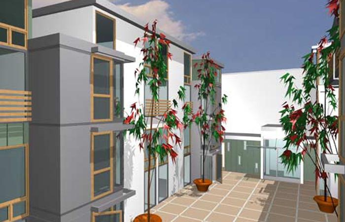 Sixth Street Live Work Acdonald Architects